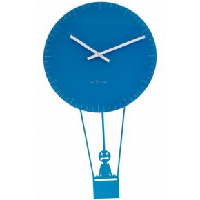 Image for product 'NeXtime 8145bl Flying Time [73x43 cm, Blue/ White]'