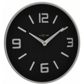 Image for product 'NeXtime 8148zw Shuwan [Ø43 cm, Black/ Silver]'