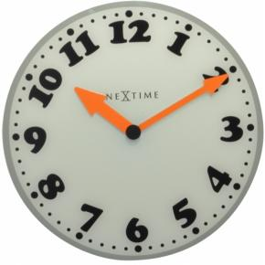 Image for product 'NeXtime 8152 Girl [Ø43 cm, White/ Gray/ Black/ Orange]'