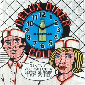Image for product 'NeXtime 8167 Delux Diner [43x43cm, Multi-color]'