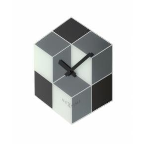 Image for product 'NeXtime 8171 Cubic [43.5x37 cm, Black/ White/ Gray]'