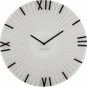 Image for product 'NeXtime 8175wi Sticks [Ø43 cm, White/ Black]'