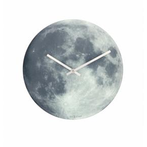 Image for product 'NeXtime 8634 Blue Moon [Ø30 cm, Gray/ Blue]'