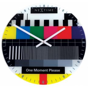 Image for product 'NeXtime 8802 Small Testpage [Ø30 cm, Multi-color]'