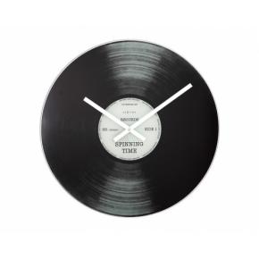 Image for product 'NeXtime B2500001 Spinning Time [Ø43cm, Black]'
