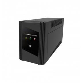 Image for product 'ADJ 650-00750UPS Office Series UPS [2x Schuko, 75 0VA, 450W, 160~290VAC, 40 dB, Black]'
