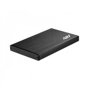 Image for product 'ADJ 120-00024 External HDD casing [2.5 inch SATA HDD -> USB 3.0, Black]'