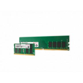 Image for product 'Transcend TS2666HLB-16G Memory [16GB, DDR4, 2666Mhz, U-DIMM, 2Rx8, 1Gx8, CL19, 1.2V]'