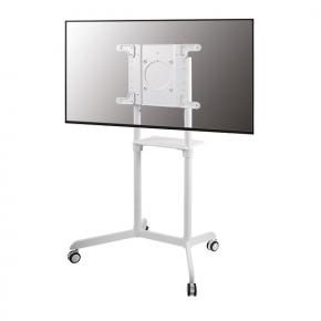 "Image for product 'Newstar NS-M1250WHITE Mobile Flat Screen Floor Stand [7 - 70"", Height: 160 cm, White)'"