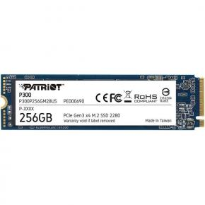 Image for product 'Patriot P300P128GM28 P300 SSD [128GB, M.2 2280, PCIe Gen3x4, 1700/1100 MB/s, 290K IOPS, 2W]'