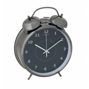 Image for product 'Nextime 5113zw Wake Up Alarm clock [23x30, Black/ Turqoise]'