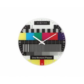 Image for product 'Nextime 5162 Little Testpage wall clock [Ø20, Multi-color]'