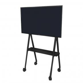 "Image for product 'Newstar NS-M1500BLACK Flat screen floor stand [50 kg, 32- 65"", 200x200 mm, 600x400 mm, Black]'"