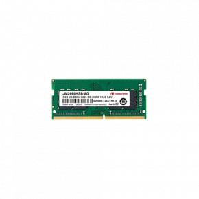 Image for product 'Transcend JM2666HSG-8G JetRam Memory [8GB, SO-DIMM, DDR4, 2666Mhz, 1Rx16, 1Gx16, CL19, 1.2V]'