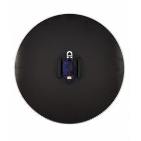 Image for product 'Nextime 8145zw Flying Time wandklok [43x74, 2kg, glas, zwart]'