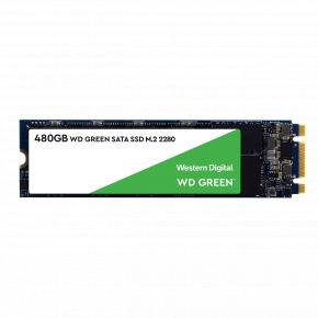 Image for product 'Western Digital WDS480G2G0B-00EPW0WD Green SSD [480GB, M.2, SATA3, 545 MB/s]'