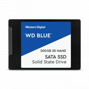 """Image for product 'Western Digital WDS500G2B0A-00SM50WD Blue SSD [500GB, 2.5"""", SATA3, 3D NAND]'"""