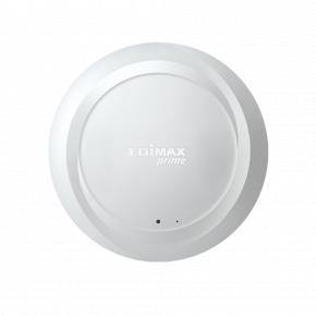 Image for product 'Edimax AX1800 Wi-Fi 6 Dual-Band Ceiling-Mount PoE Access Point [AC1800, 574 + 1201 Mbps, White]'