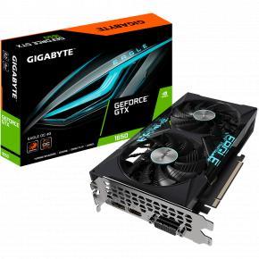 Image for product 'Gigabyte GV-N1656EAGLE OC-4GD Nvidia GeForce GTX 1650 [PCIe 3.0, 4 GB, GDDR6, 128 bit, 350 W]'