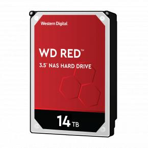 """Image for product 'Western Digital WD140EFFX RED NAS HDD [14TB, 3.5"""", SATA3, 5400 RPM, 512MB, 210 MiB/s, CMR]'"""