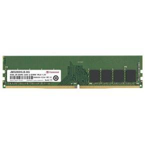Image for product 'Transcend JM3200HLB-8G JetRam [8GB, U-DIMM, DDR4 3200Mhz, 1Rx8 1Gx8, CL22, 1.2V]'
