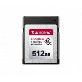 Image for product 'Transcend TS512GCFE820 CFExpress 820 [512 GB, CFexpress type-B, TLC 3D NAND, 1,700/1,000 MB/s]'