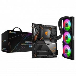 Image for product 'Gigabyte Z490 AORUS MASTER WATERFORCE Z490 Aorus Master Waterforce [Intel, LGA1200, Z490, DDR4]'