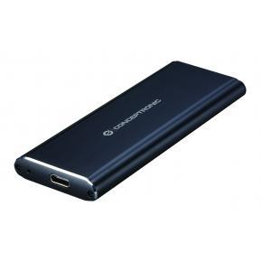 Image for product 'Conceptronic DDE01B, SSD External Storage enclosure [M.2, 10 Gbit/s, USB connectivity, Black]'
