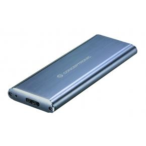 Image for product 'Conceptronic DDE03G SSD External storage enclosure [M.2, 5 Gbit/s, USB connectivity, Gray]'