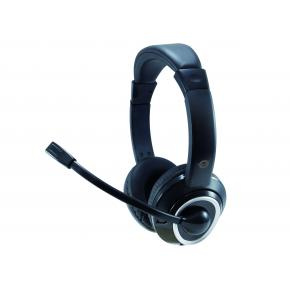 Image for product 'Conceptronic POLONA01B USB Headset [Head-band, 42 - 17000Hz, 95 dB, Calls & Music, Binaural, Black]'