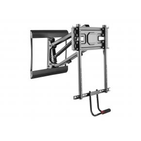 """Image for product 'Equip 650326 43""""-70"""" Pull-Down TV Wall Mount Bracket, 200 x 200 mm, 600 x 400 mm, Steel, Black'"""