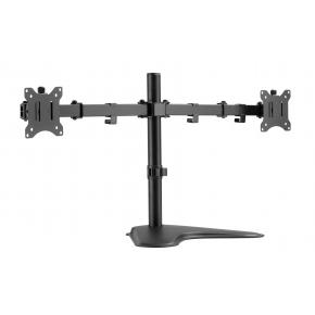 """Image for product 'Equip 650123 Economy Dual Monitor Tabletop Stand [17""""-32"""", 16 kg, 75 x 75 mm, 100 x 100 mm, Black]'"""