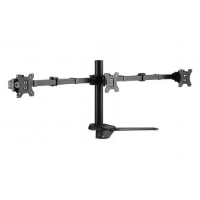 "Image for product 'Equip 650125 Articulating Triple Monitor Tabletop Stand [3x 17 - 27"". 21 kg, 75 x 75/ 100 x 100 mm]'"
