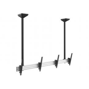 "Image for product 'Equip 650373 Dual Screen Ceiling Mount [45"" - 55"", 200 x 200/ 600 x 400 mm, 0 - -20°, Black]'"
