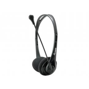 Image for product 'Equip 245302 Chat Headset [3.5mm, Head-band, Calls & Music, Binaural, Rotary, Black]'