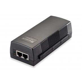 Image for product 'LevelOne POI-2012 PoE Injector [Fast Ethernet, 10,100 Mbit/s, 802.3af, 15,4 W, 100 m, Black]'