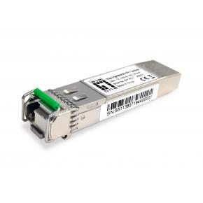 Image for product 'Levelone SFP-6531 10Gbps Single-mode BIDI SFP+ Transceiver [20km, TX 1330nm / RX 1270nm]'