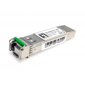 Image for product 'Levelone SFP-6541 10Gbps Single-mode BIDI SFP+ Transceiver, 40km, TX 1330nm / RX 1270nm'