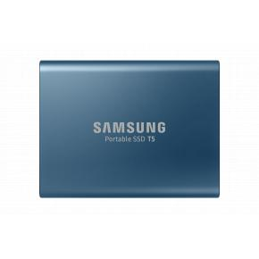 Image for product 'Samsung MU-PA500B/EU T5, Portable SSD [500 GB, USB Type-A, 3.2 Gen 2 (3.1 Gen 2) 540 MB/s, Blue]'