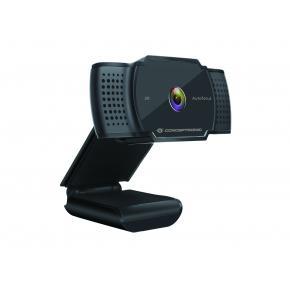 Image for product 'Conceptronic AMDIS02B AMDIS 2K Super HD Autofocus Webcam w/ Microphone [5 MP, 2592x1944, 30 fps]'