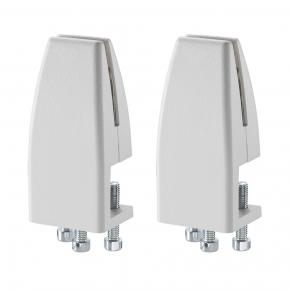 Image for product 'Newstar NS-CLMP25WHITE clamp set (2 pcs) [8 - 25 mm, Desk, 42 mm, 31 mm, 89 mm, 46.5 cm]'