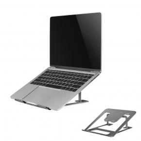 "Image for product 'Newstar NSLS085GREY Ergonomic Notebook Desk Stand [10"" - 17"") 254 - 431.8 mm, 5 kg, Grey]'"