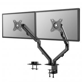 "Image for product 'Newstar FPMA-D650DBLACK Flat screen desk mount [Clamp/Bolt-through, 7 kg, 17"" - 27"", Black]'"