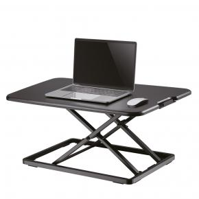 Image for product 'Newstar NS-WS050BLACK Workstation sit/stand workplace (height adjustment: 4-40cm)'