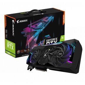 Image for product 'Gigabyte GV-N3080AORUS AORUS M-10GD Nvidia GeForce RTX 3080 [PCIe4.0, 10 GB, GDDR6X, 320 bit, 750 W]'
