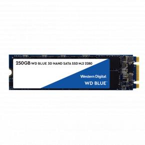 Image for product 'Western Digital WDS200T2B0B Blue SSD [2TB, M.2 2280, 550/ 525 MB/s (max)'