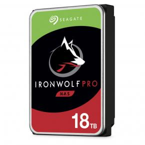 """Image for product 'Seagate ST18000NE000 IronWolf Pro Guardian NAS HDD [16 TB, 3.5"""", SATA3, 7200 RPM, 256MB, 300 MB/s]'"""