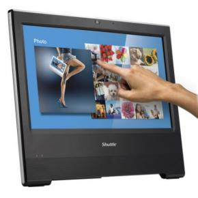 """Image for product 'Shuttle PAC-X50V702 X5070XA All-In-One PC, Intel Cel. 4205U, 15.6"""" Touch screen, 4GB, 500GB HDD'"""