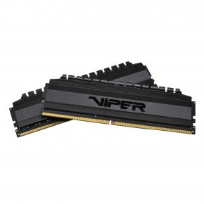 Image for product 'Patriot PVB464G360C8K Viper 4 Blackout DIMM Dual-Kit [64GB, DDR4, 3600 Mhz, CL18, HS]'