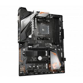 Image for product 'Gigabyte B450 AORUS ELITE V2, ATX, AMD Ryzen, AM4, 4x DDR4, 2933 MHz, M.2, USB3.1 Gen2, GBLAN'